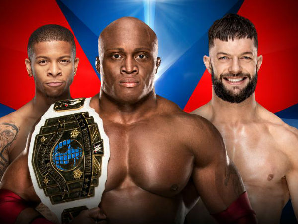 6. Handicap match for the WWE Intercontinental Championship: Bobby Lashley (c) and Lio Rush vs. Finn Balor