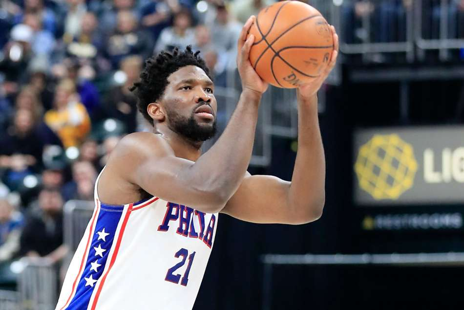 Philadelphia 76ers star Joel Embiid posted 37 points