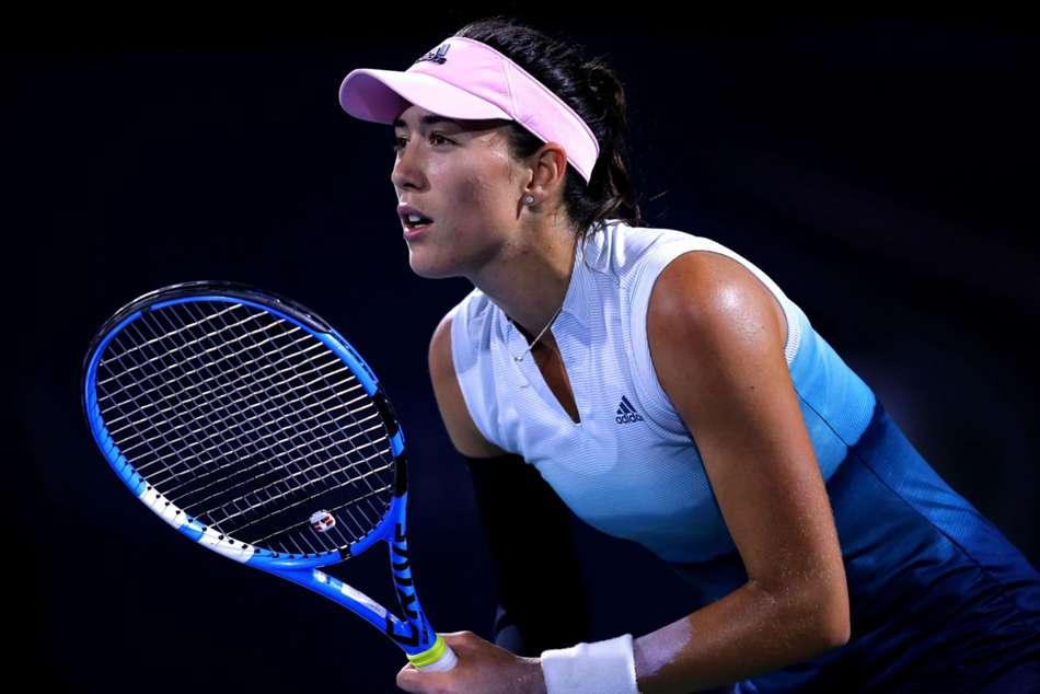 Wta Tour Dubai Tennis Championships Garbine Muguruza Daria Kasatkina
