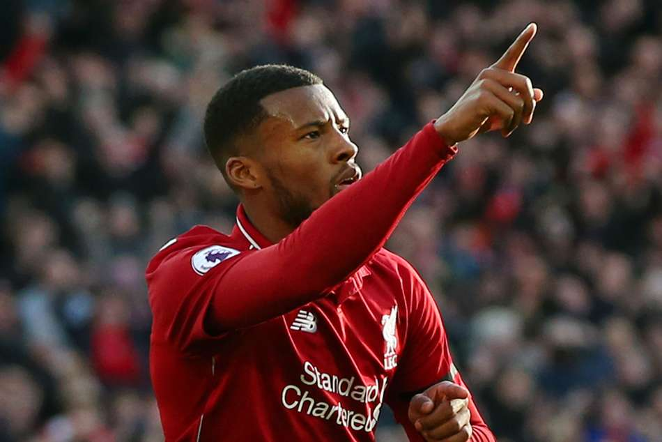 Premier League Wrap Mane Wijnaldum Salah Fire Reds Back The Top
