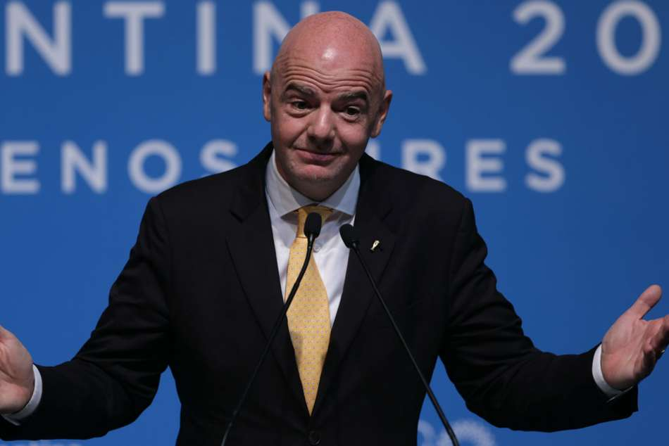 Gianni Infantino Fifa President Four Years Only Election Candidate