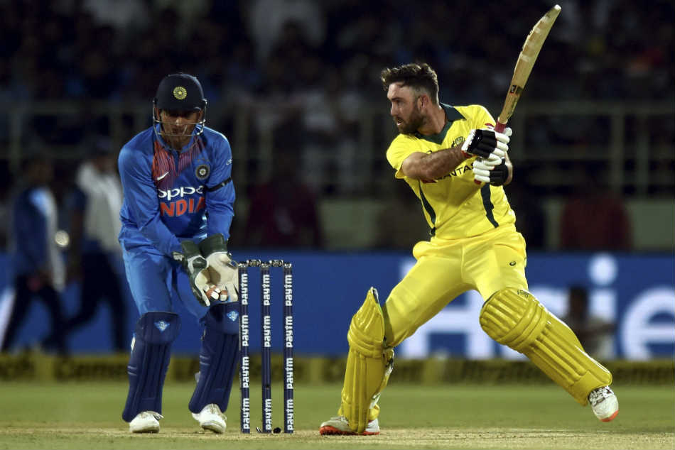 Glenn Maxwell fifty carries Australia past the post