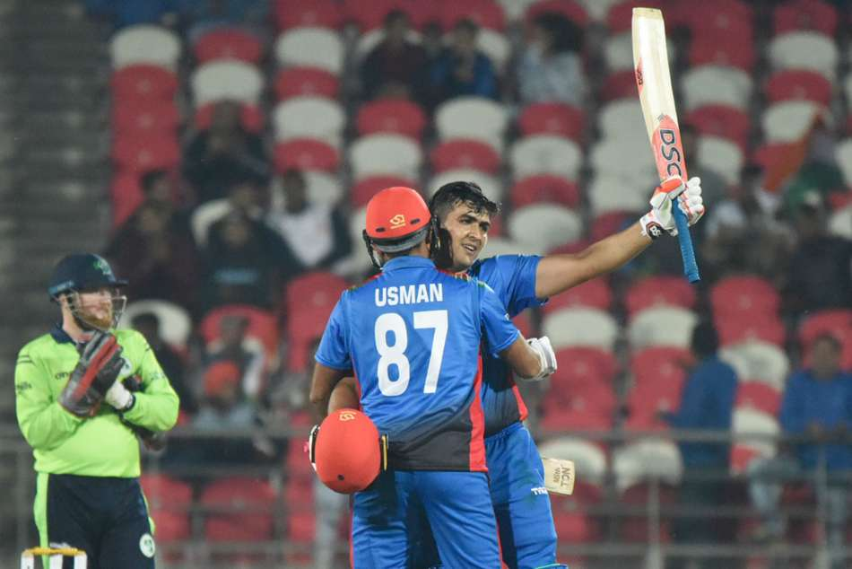 Zazai S 162 Leads Afghanistan Record T20i Total