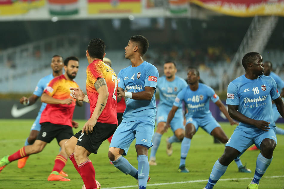 I League Quess East Bengal Churchill Brothers Share The Spoils Kolkata