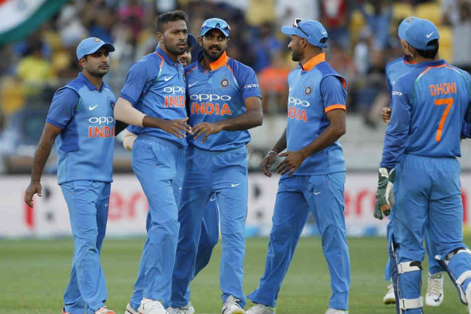 India Vs New Zealand Report Card India Players Odi Series