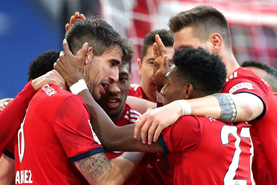 Bayern Munich 1 Hertha Berlin 0 Martinez Sends Champions Level Top