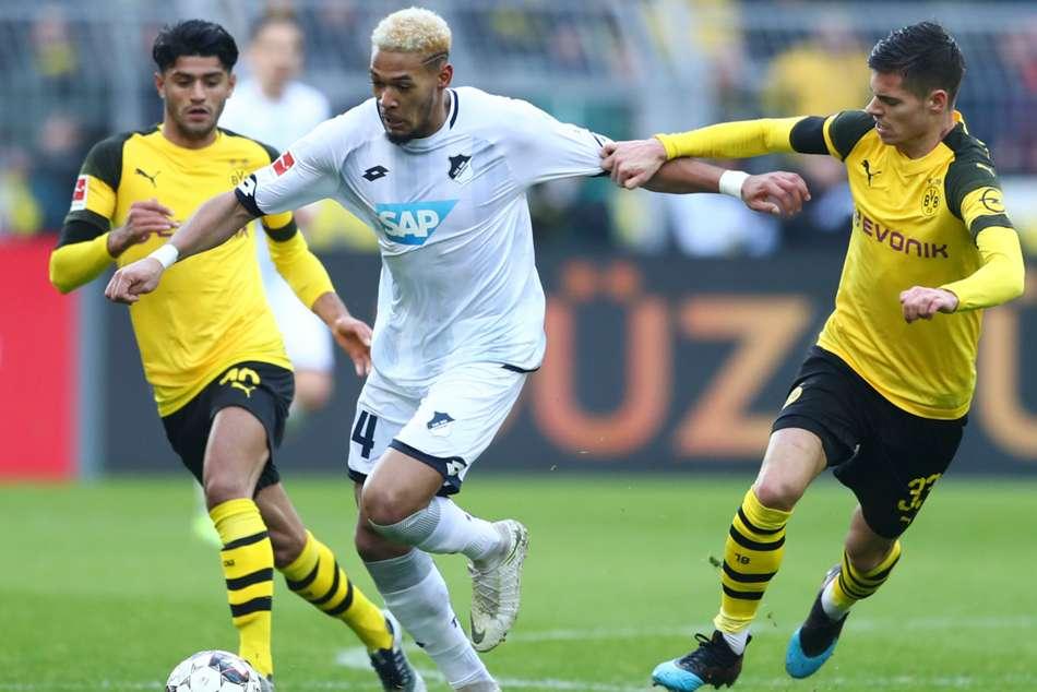 Borussia Dortmund 3 Hoffenheim 3 Sensational Three Goal Comeback Denies Favre S Men