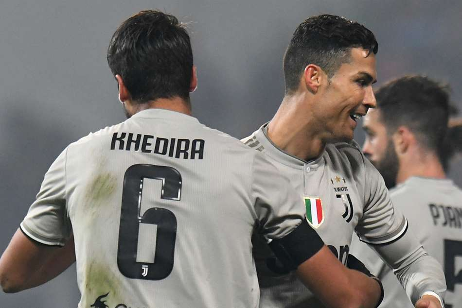 Sami Khedira and Cristiano Ronaldo were among the goals for Juventus