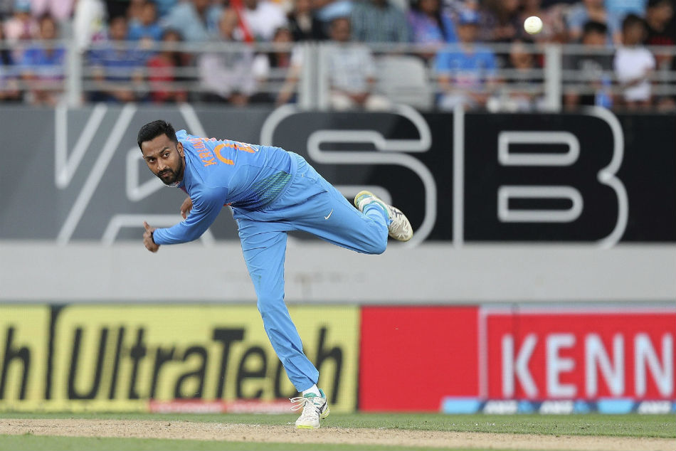 India Beat New Zealand Second Twenty20 International Rohit Sharma Krunal Pandya