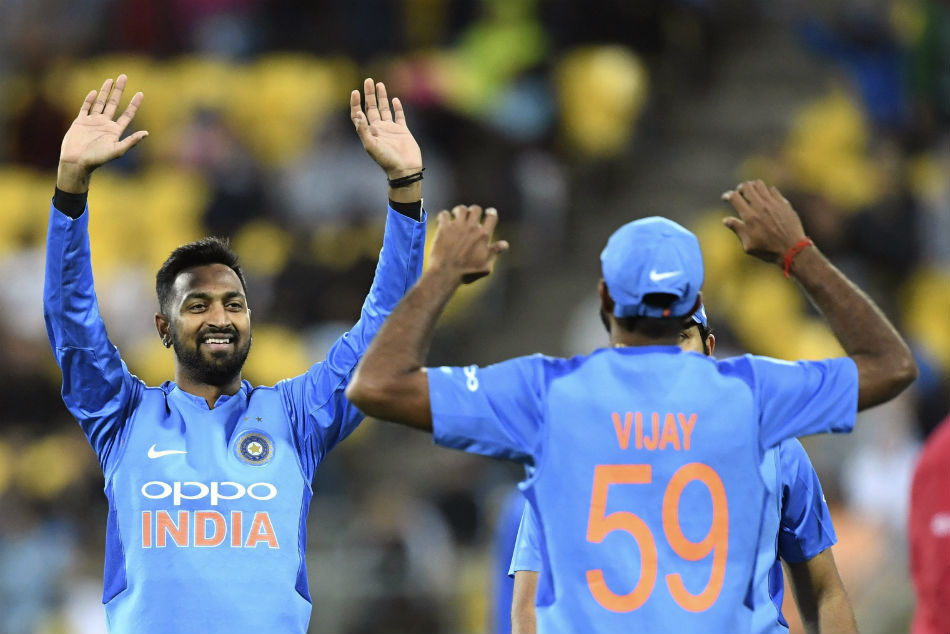 India Vs New Zealand Krunal Pandya Rues Conceding Runs Middle Overs Cost Team India 1st T20i