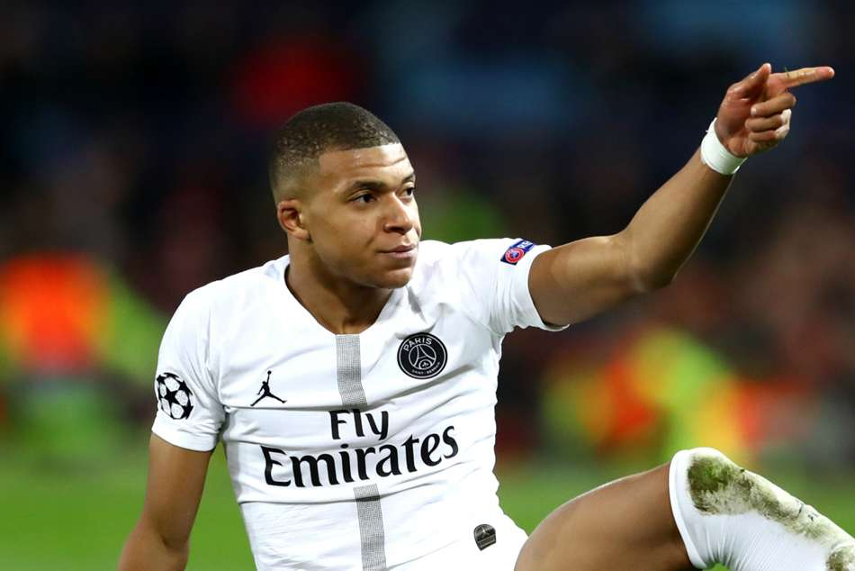 Kylian Mbappe Psg No Fear Champions League Manchester United