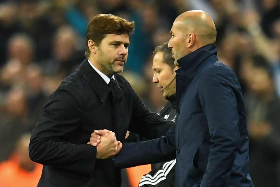 Tottenham Mauricio Pochettino David Beckham Zinedine Zidane Encounter Coincidence