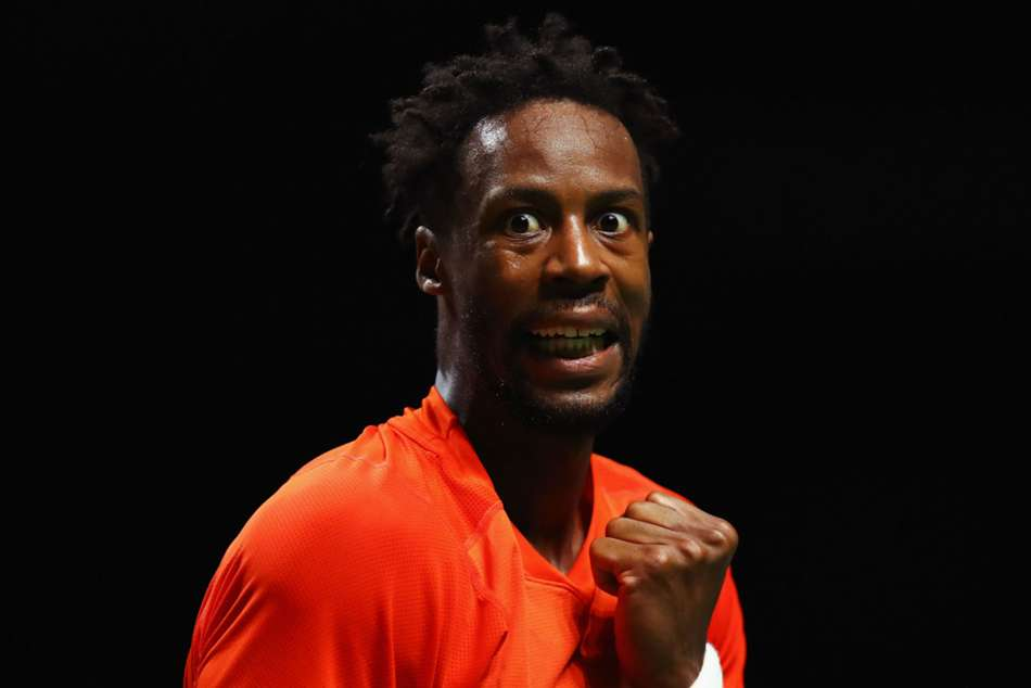 Gael Monfils ousted third seed Marin Cilic with straight sets victory at the Dubai Tennis Championship