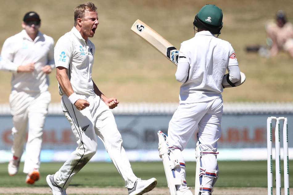 Neil Wagner Leads New Zealand Bangladesh Tamim Iqbal Century