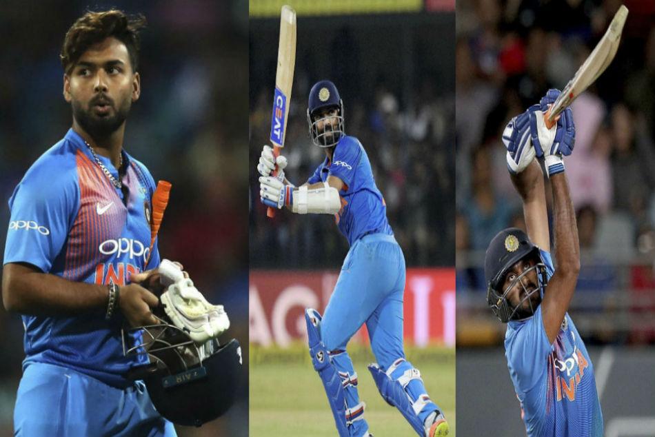Rishabh Pant Ajinkya Rahane Vijay Shankar Contention India World Cup Squad Msk Prasad