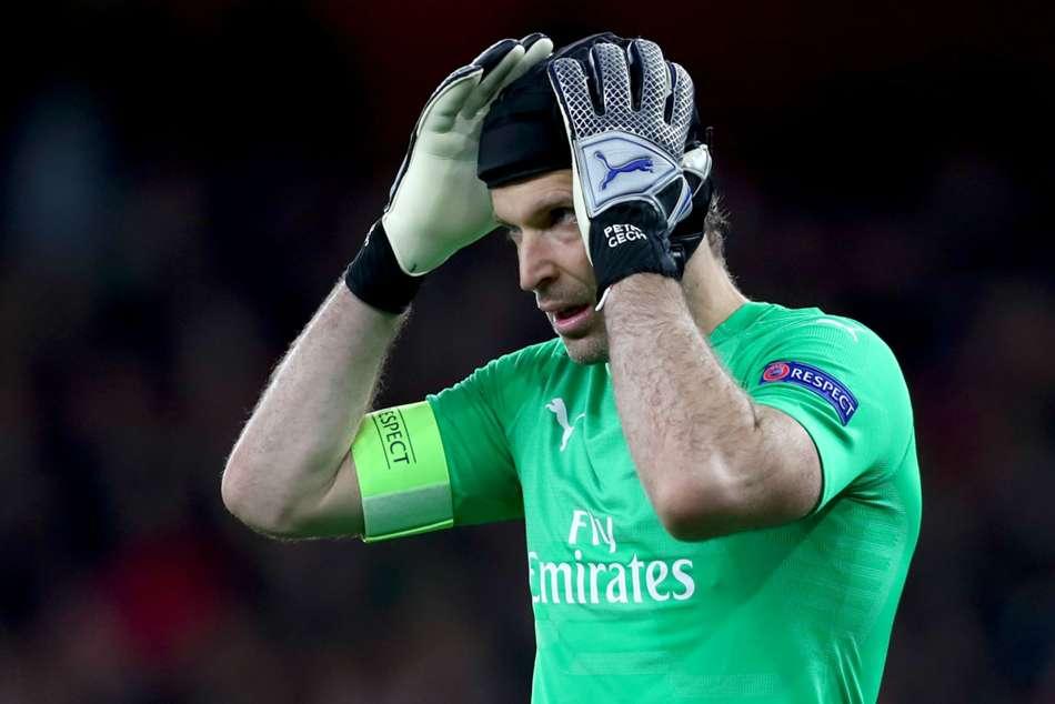 Petr Cech Arsenal Failings Alexandre Lacazette Apologises Europa League Bate Defeat