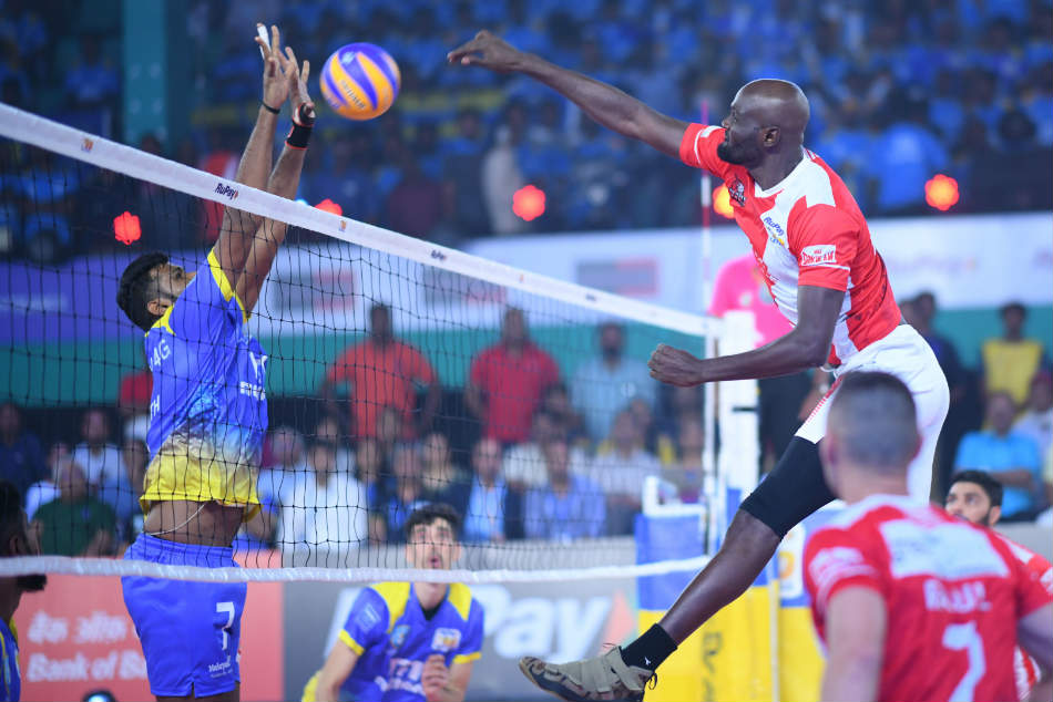 Pro Volleyball League Calicut Heroes Record First Whitewash As They Defeat Kochi Blue Spikers 5