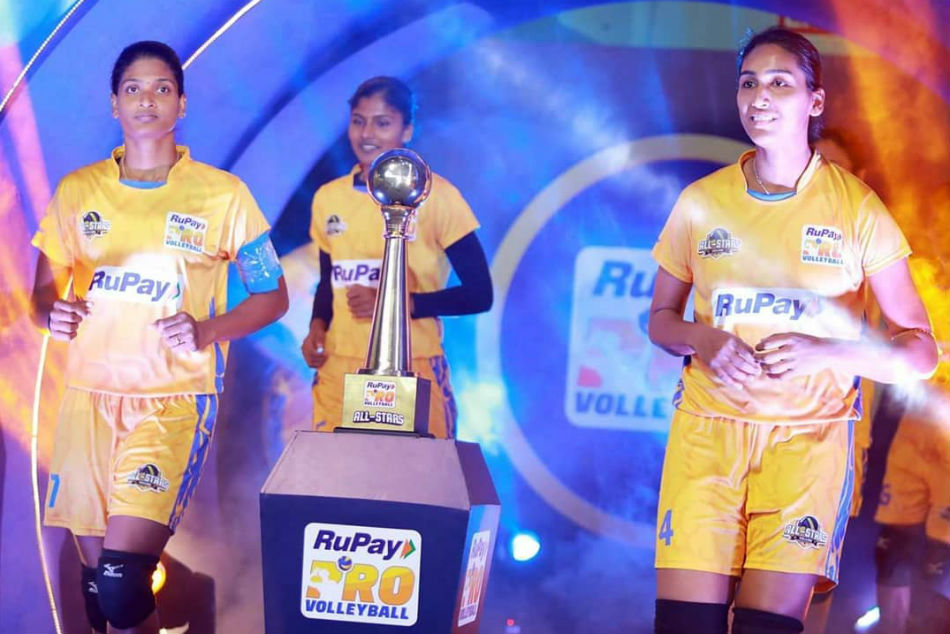 Pvl 2019 All Stars Blue Defeat All Stars Yellow Women All Stars Exhibition Match