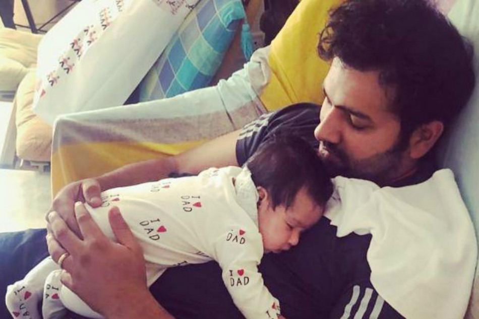 Rohit Sharma Shares Adorable Pic With Daughter Samaira