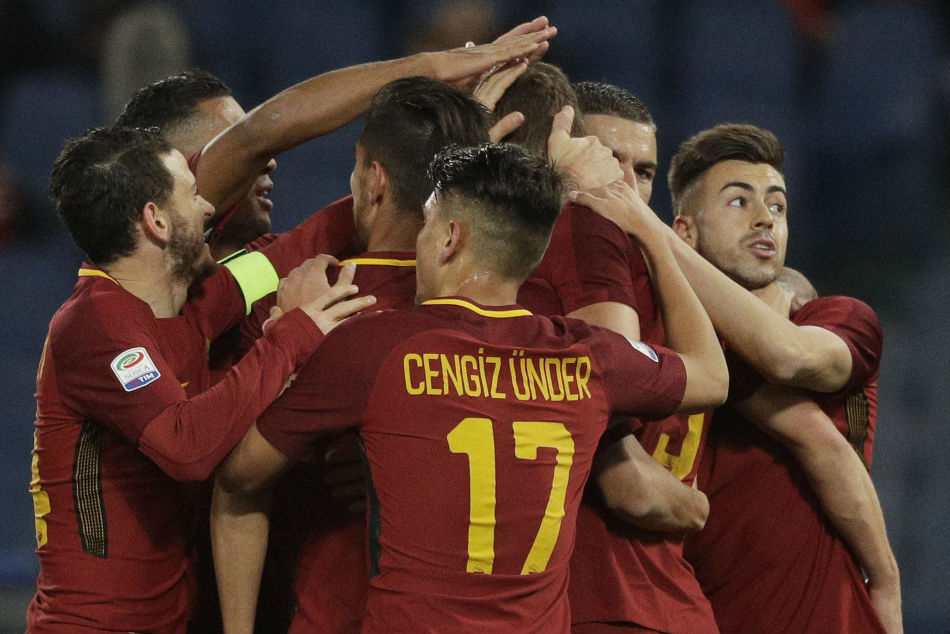 Serie A Dzeko 95th Minute Winner Rescues Roma Against Lowly Frosinone