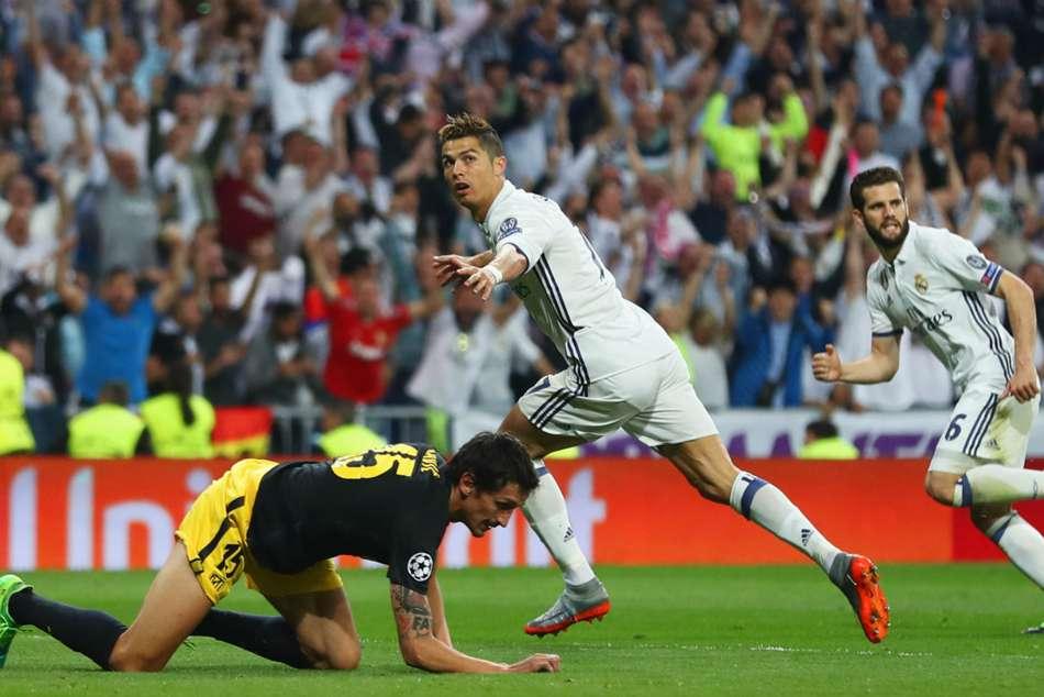 Cristiano Ronaldo Record Atletico Madrid V Juventus Champions League