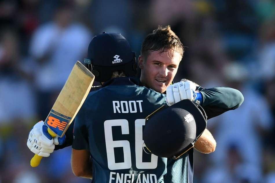 Jason Roy Joe Root Hundreds England Record Run Chase Beat West Indies Odi