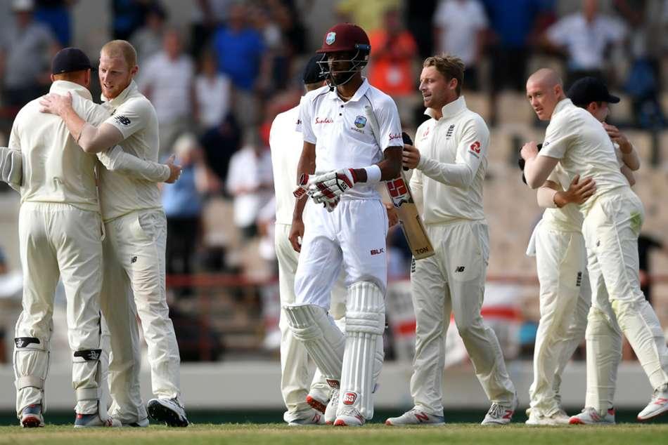 Roston Chase Century England Beat West Indies