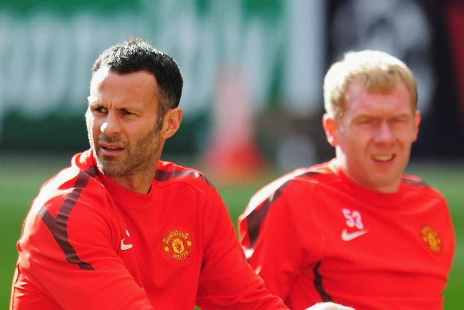 Ryan Giggs and Paul Scholes