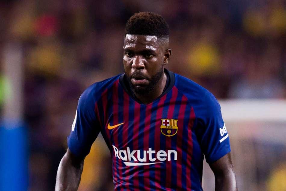 Samuel Umtiti Back Barcelona Training