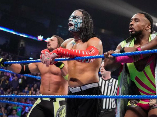 Jeff Hardy, AJ Styles and rest of the roster