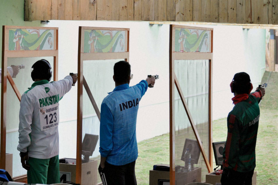 Pakistan Shooters Not Taking Part New Delhi World Cup