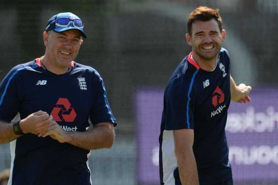 England Coach Ashley Giles Chris Silverwood