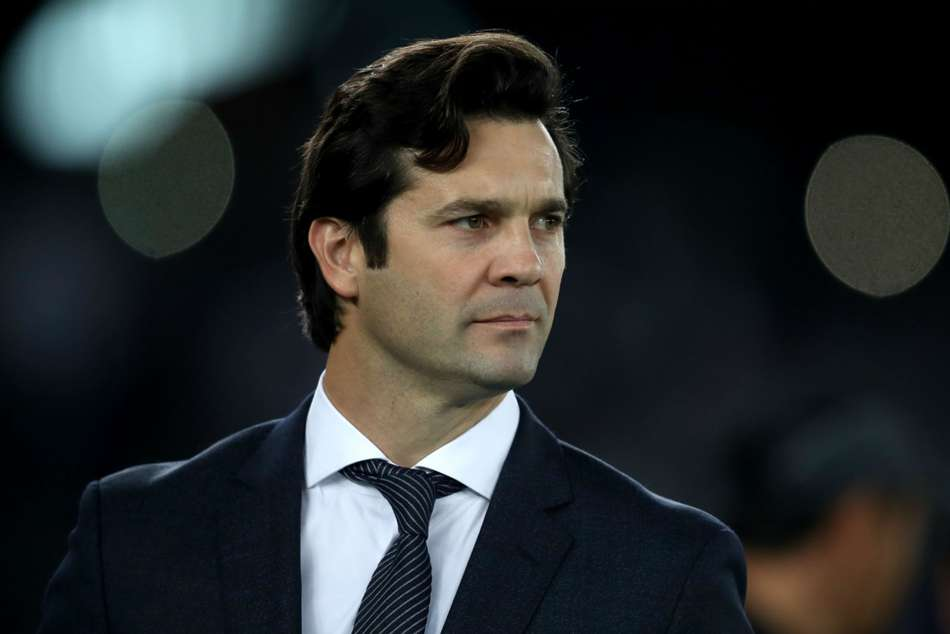 Real Madrid boss Santiago Solari