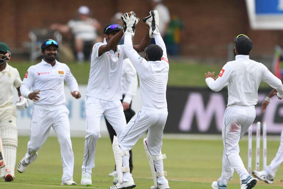 South Africa Sri Lanka Day One Second Test Vishwa Fernando Kasun Rajitha Quinton De Kock Aiden Markram