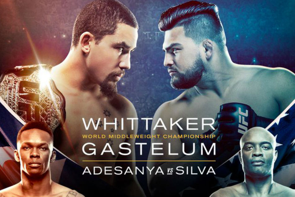 UFC 234: UFC 234: Whittaker Vs Gastelum Preview, Fight Card And