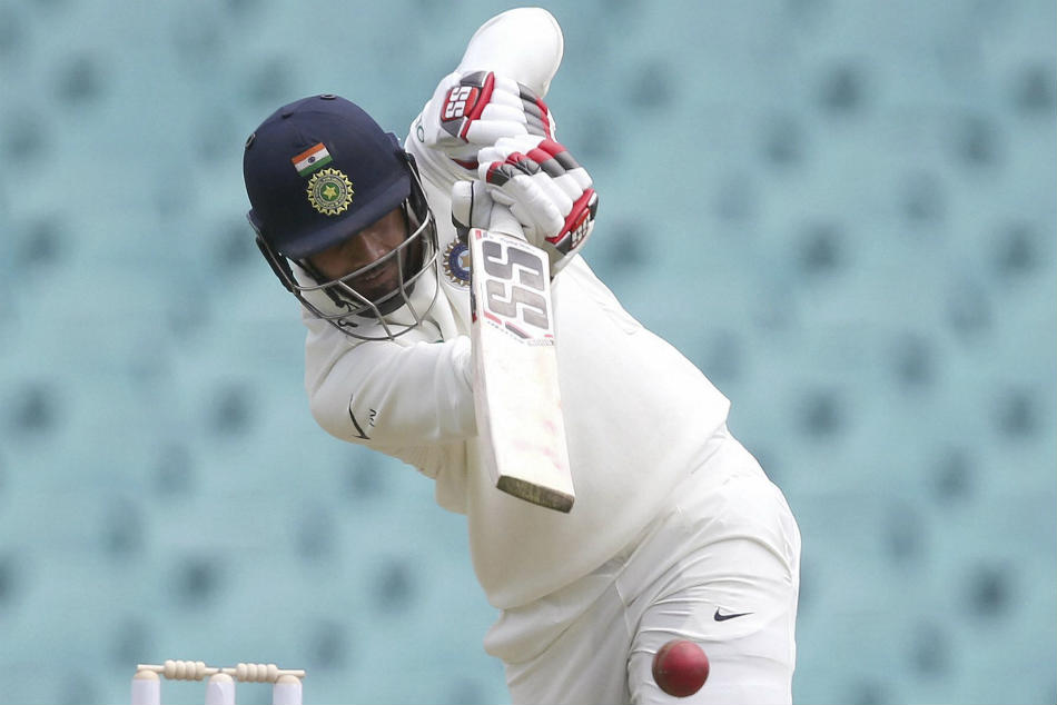 Hanuma Vihari made a hundred for RoI against Vidarbha in the Irani Cup