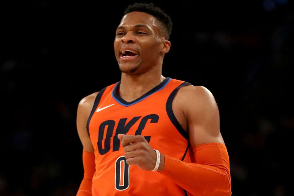 Nba News Russell Westbrook Sets Record With 10 Consecutive Triple Doubles Oklahoma City Thunder Trail Blazers