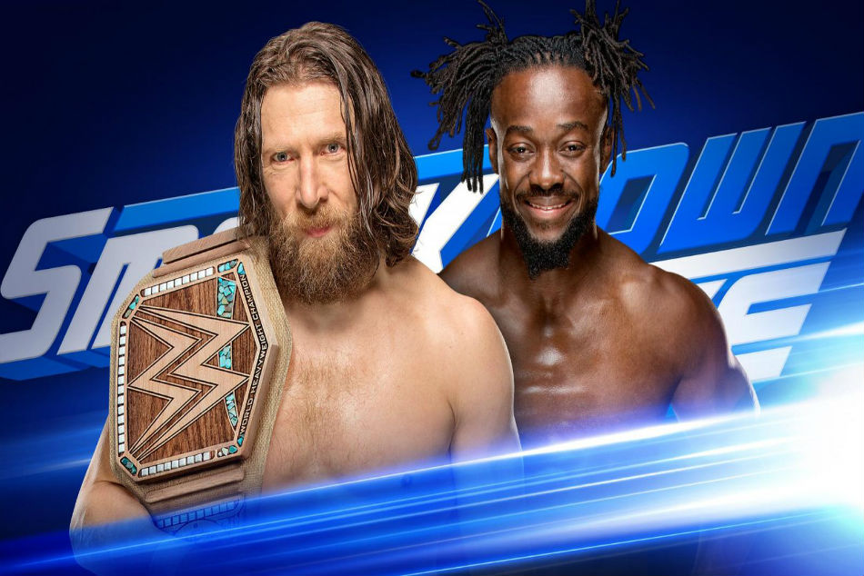 Bryan and Kingston to make WWE Championship match official for Fastlane tonight on Smackdown (Images: WWE.com)