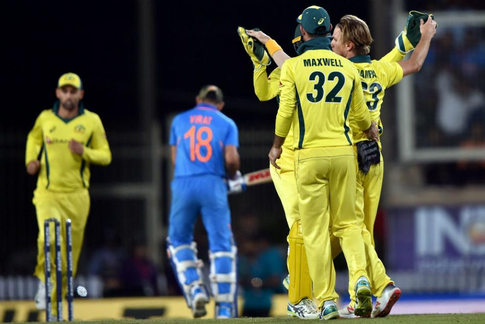 India Vs Australia 3rd Odi Highlights Kohli S Ton Goes In Vain Australia Beat India In Ranchi