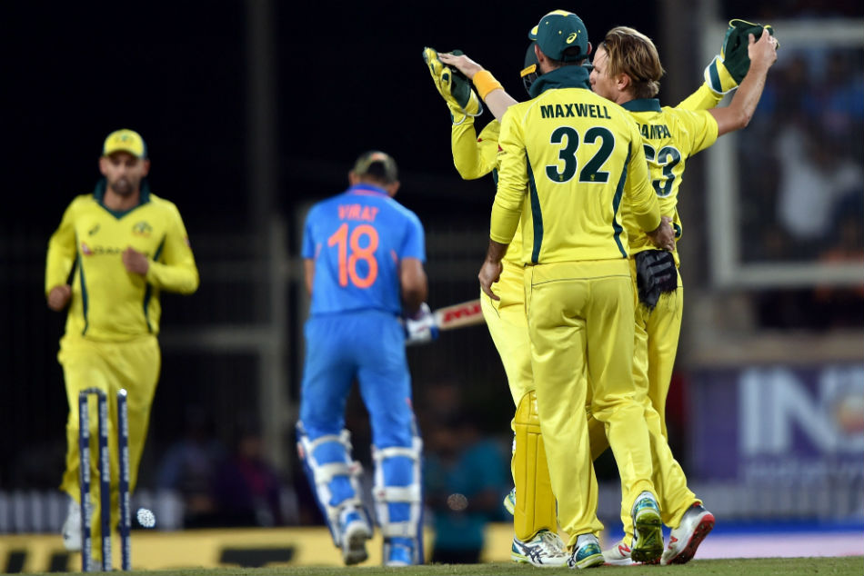Failure to counter Adam Zampa's spin