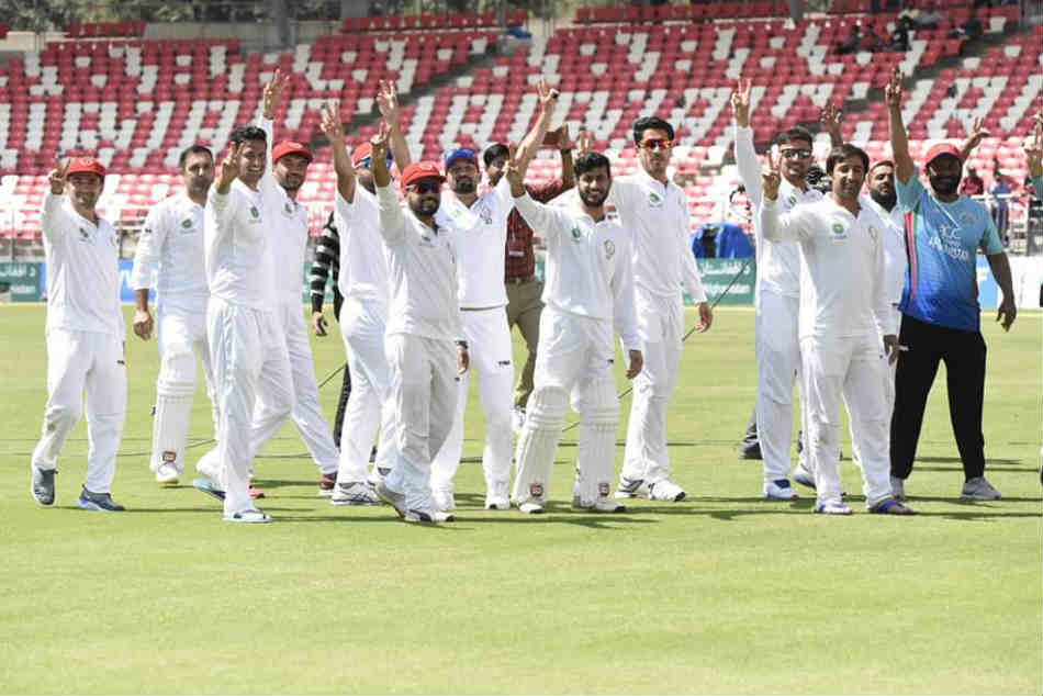 Afghanistan Beat Ireland Notch Up Maiden Test Victory Dehra Dun