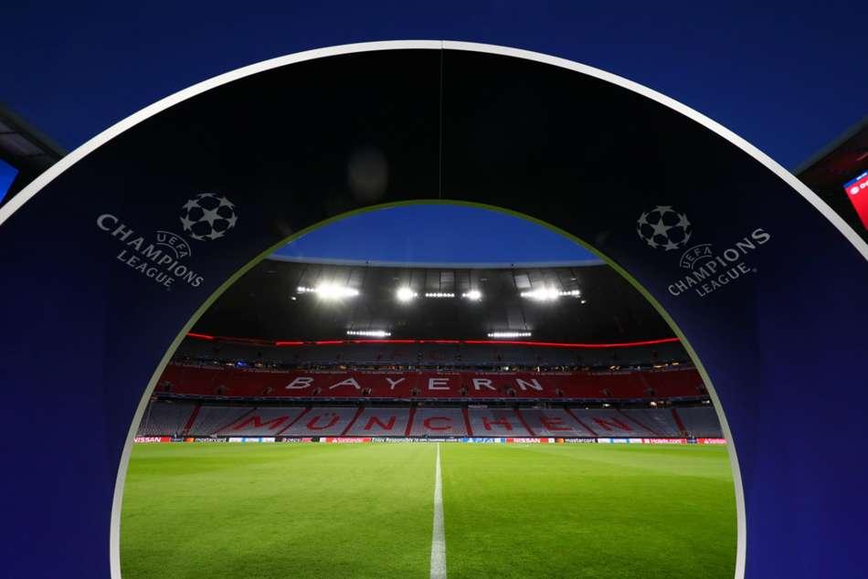Bayern Munich Charged Uefa Champions League Banner