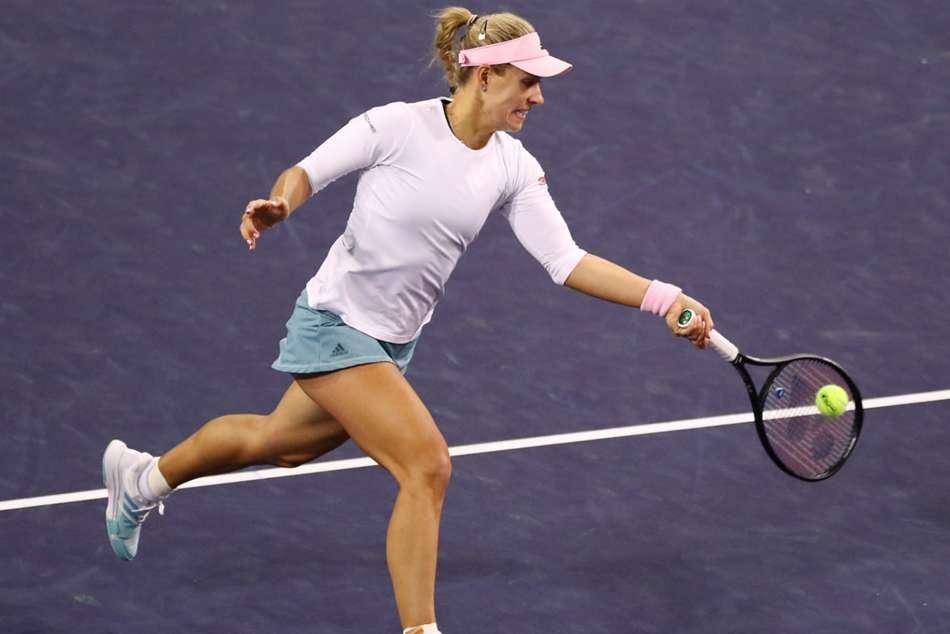 Kerber Bencic Andreescu Indian Wells Open Final