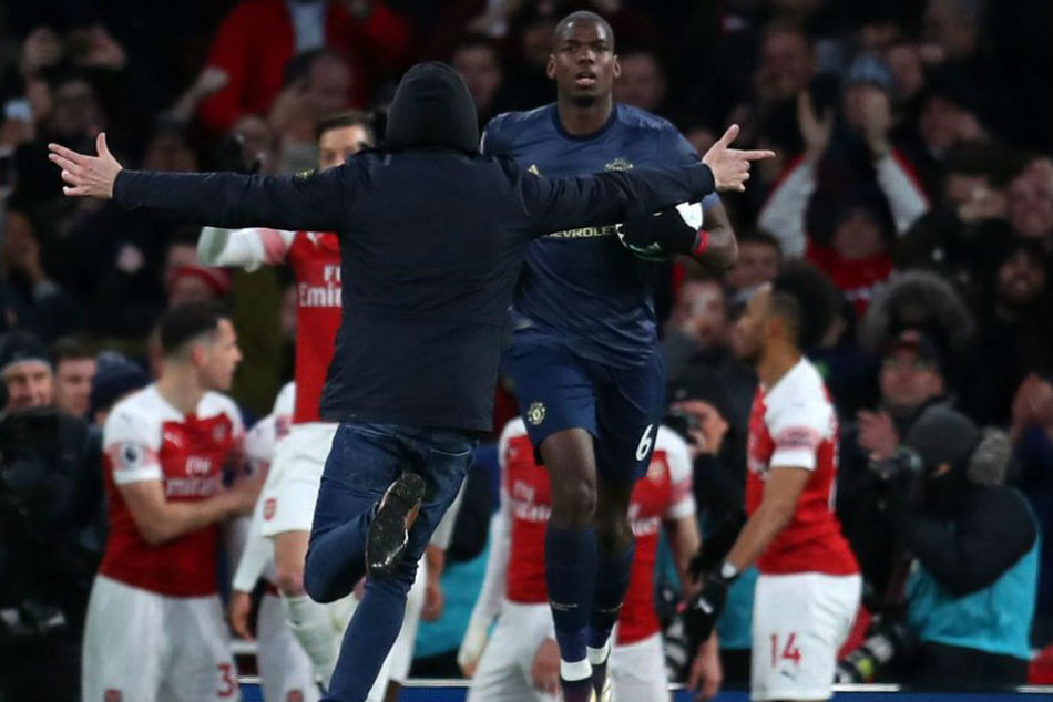 Fa Charge Arsenal Over Pitch Invader During Man United Game