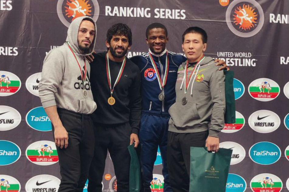 Wrestling Bajrang Punia Bags Gold Bulgaria Dedicates Medal Wing Commander Abhinandan Varthaman