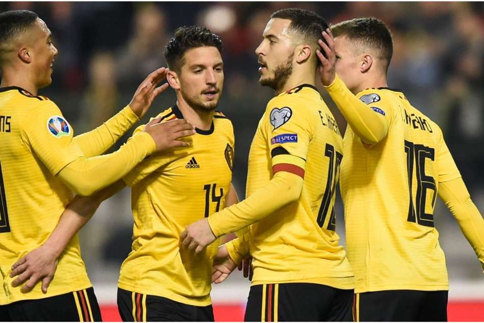Belgium 3 Russia 1 Hazard Spares Courtois Blushes