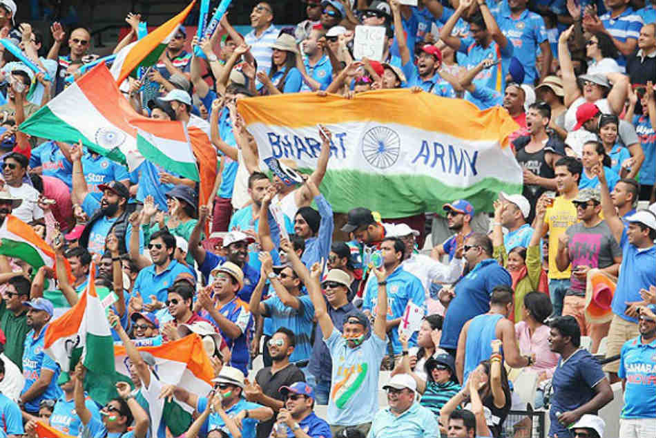 ICC World Cup: Bharat Army's 8000 fans from 22 countries to converge in UK  - myKhel