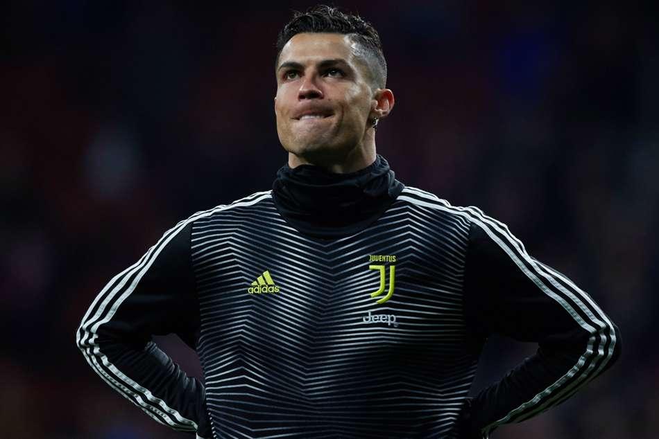Cristiano Ronaldo Juventus Atletico Madrid Champions League Allegri