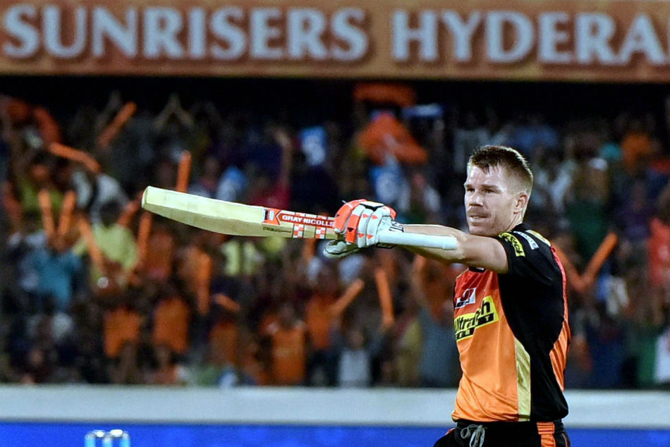 Ipl 2019 David Warner Unites With Sunrisers Hyderabad Teammates Smashes 43 Ball 65 In Warm Up Game