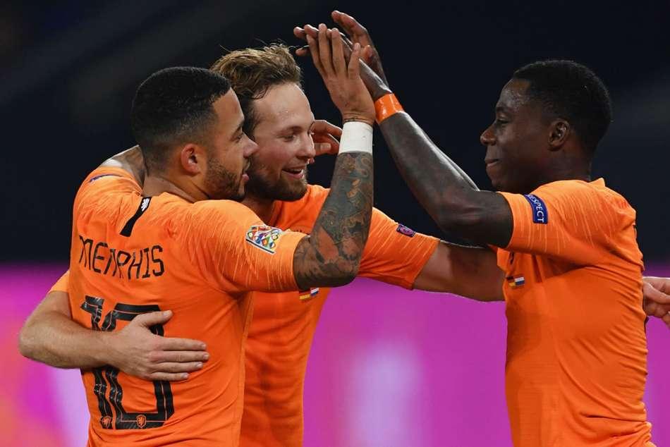 Netherlands Belarus Euro 2020 Qualifier Match Report Memphis Depay